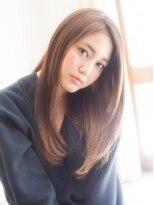 美容室パイナップル犬塚店カッコ可愛い美髪ロング