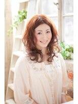 オーガニックサロン フェイス 茶屋町店(organic salon face)ふんわりウォ-ミ-カールヘアー