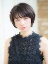 オーブ ヘアー アオヤマ 青山店(AUBE HAIR AOYAMA)ハンサム美人ショートヘア