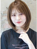アフロート ルヴア 新宿(AFLOAT RUVUA)イルミナカラー透明感ミルクティーベージュ×涼しげレイヤー