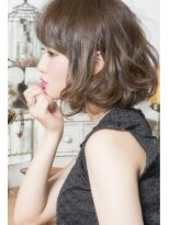 【keep hair desigin.木田】☆ウェービー大人ボブ