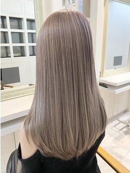 グロウ 恵比寿(grow)の写真/【恵比寿駅西口◇徒歩1分】ダメージレベルに合わせて幅広いラインナップをご用意!こだわりのTrで美髪へ♪