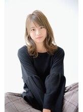 ヘアメイク エアー(Hair Make Air)【Hair×Make air京都】外国人風透明感×くびれミディアムロブ☆