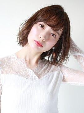 ブラン(Blanc)☆レイヤーボブ×マットベージュ☆