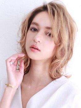 アース 小禄店(EARTH)の写真/小禄★厳選したオーガニックカラー!低刺激、ダメージレスで透き通るような髪色に♪うる艶なヘアで女子力UP