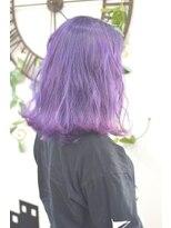 ヘアーサロン エール 原宿(hair salon ailes)(ailes原宿)style328 デザインカラー☆ラベンダーヴァイオレット