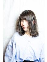 ヘアーメイク ビロー 丸亀店(Hair Make Billow)外国人風カット&ダークアッシュ