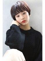 【Blanc/梅田】ナチュラルショート/暖色系カラー/miy615