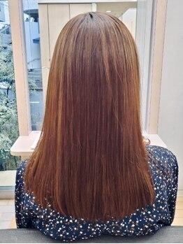 アリュール ALLUREの写真/人気の生ケラチン配合COTAトリートメント取り扱い◎上質なダメージケアで思わず触れたくなる潤う髪へ。