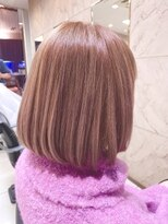 ヘアーメイクチャム(hair&make CHUM)ピンクグレージュ
