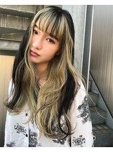 ジオラマ ヘアメイク(DIORAMA Hair Make)【DIORAMA】フェイスフレーミングカラー/ワイドバング