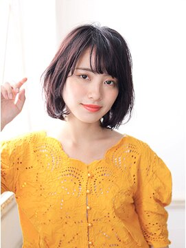 カイノ イオンモール 岡山店(KAINO)【KAINO】ナチュラルボブイルミナカラー耳かけ