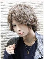 前髪長めのミディアムカールスタイル【Ai葛西】