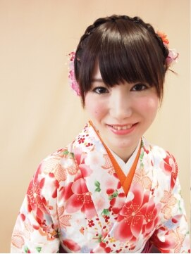 スゥリール(souRiLe)【卒業式・謝恩会に♪】 袴のアップスタイル☆