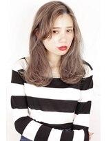 ヘアサロンガリカアオヤマ(hair salon Gallica aoyama)☆ グレージュ & 毛束感 ☆ メルトカラー medium style☆