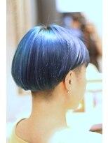 ルーシー(LUCY)Blue&SkyBlue×Mash