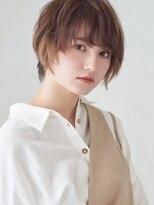 ミンクス 銀座店(MINX)【MINX鈴木貴徳】2021年ナチュラルシースルーショートボブ