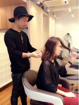 ロータス ヘアデザイン 西船橋店(Lotus Hair Design)の写真/「わたしに似合うを作ってほしい!!」そんなあなたのワガママに応えてくれるサロン♪