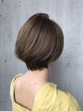 美容室 ツリー(Tree)『Tree hairsalon 』ノンブロー 大人 ショートボブ 本厚木
