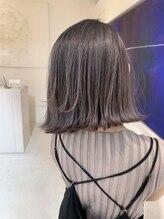 スピンヘアワークス(Spin Hair Works)【松本侑也】切りっぱなしシルバー
