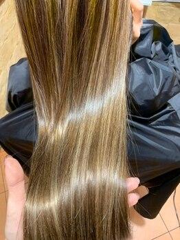 ニコバイミュゼ(nico.bymusee)の写真/【iPadによる髪質診断付】11種類の中からあなたに合うトリートメントをカスタマイズ★内側から輝く美髪へ*