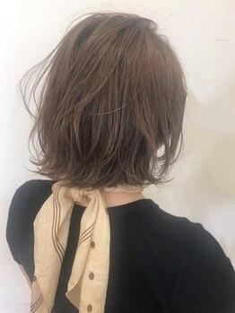 フレイムス ヘアアンドリラックス 吉川店(Frames hair&relax)の写真/【吉川駅徒歩3分】艶&透明感を引き出す【イルミナ】や植物由来成分配合の【アドミオ】など旬カラーが豊富♪
