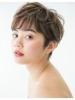 ワン002 (ONE)『ショートネープ×ニュアンスショート』小島 寿