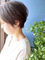 クブヘアー(kubu hair)《Kubu hair》大人キレイな小顔ショート