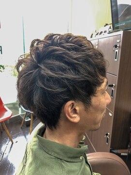 リッツファミリーズピコ めがね橋店(RIT FAMILYZ PIKO)耳周りはスッキリマッシュ