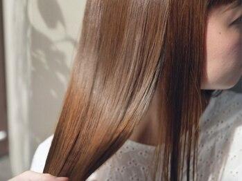 プルースラウンジ(Plus Lounge)の写真/【絶大な効果!髪質改善】髪のお悩みに合わせたメニュー提案で,いつまでも触れていたくなる美髪へ*[表参道]