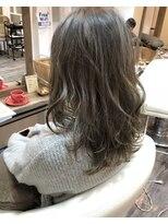 ハロ (Halo hair design)トレンドの定番!アッシュグレーカラー★