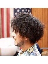 カイバーバーバイウッズ(Kai Barber by woods)men's cut perm
