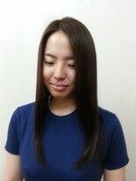 アオタニ ヘア 東向日店(aotani hair)『aotani 』ダークブラウン×ナチュラルストレート