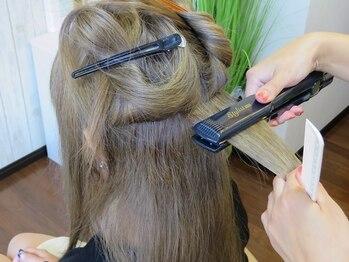 ビューティーサロン 凛花の写真/髪質・くせレベル・理想の仕上がりに合わせたストレートを実現♪熟練の技術を貴女の髪で実感してください☆