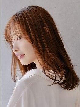 ゾアクラシックヘアー(ZOA classic hair)の写真/【二子玉川駅徒歩4分】《カット+カラー+TR¥7500》扱いづらいクセもこだわりの商材で長持ち&ツヤがUP◎
