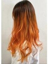 ソース ヘア アトリエ 京橋(Source hair atelier)【SOURCE 】パッションオレンジ