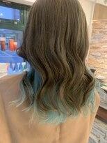 ネオヘアー 曳舟店(NEO Hair)スカイブルーcolor
