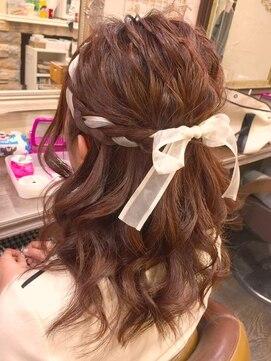 小学生におすすめの卒業式の髪型のやり方|ミディアム/ボブ