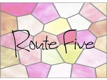 ルートファイブ(ROUTE FIVE)の雰囲気(NEW ロゴ)