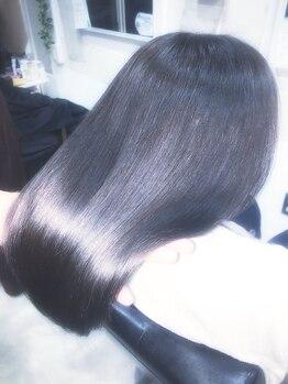 アンフィフォープルコ(AnFye for prco)の写真/悩みがある方必見!どんな悩みも髪質改善◎魔法のような技術《ジュエリーシステム》で今迄にない艶髪に♪