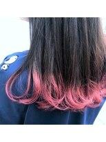 スピカ(Spica*)キャンディピンク裾カラー