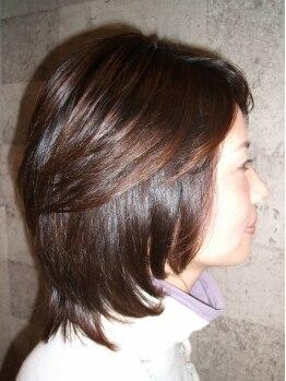 ヘアー アジト(Hair Ajito)の写真/《神楽坂駅1分の好立地♪》実力派スタイリストによるマンツーマン施術!あなたの魅力を引出すカット☆