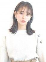シアン ケーツー 森ノ宮(CYAN k-two)【CYAN k-two 森ノ宮】シースルーバング☆ナチュラルミディ