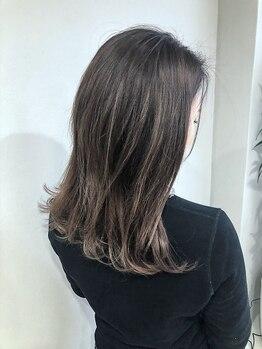 アット(at)の写真/【岐阜市/PVサロン】ブリーチ/ドライヤー/紫外線などによる髪のダメージもしっかりケア!指通りの良い髪へ