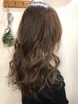 ヘアーアンドメイク ポッシュ 新宿店(HAIR&MAKE POSH)ナチュラルブラウンカラー