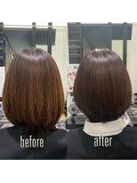 グリーン(Glean)簡単スタイリング♪美髪艶髪ショートボブ