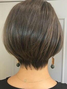 コキーユ(Coquille)の写真/≪今よりもっと素敵に♪≫あなたの魅力を引き出すショートヘア!繊細なカット技術で[なりたい姿]を叶えます