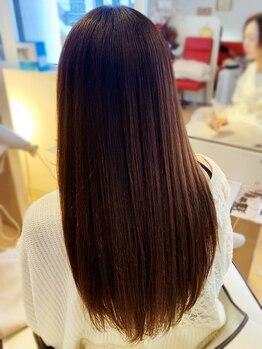 パルティール(Partir)の写真/【髪質自体を整える髪質改善トリートメント付き】クセの原因をしっかり見極め施術いたします。