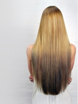 ヘアーアンドネイル ミルク(hair&nail milk)の写真/「キレイ」「可愛い」は健康的な髪から…髪とカラダに優しいものを厳選したこだわりサロン♪炭酸泉も人気◎