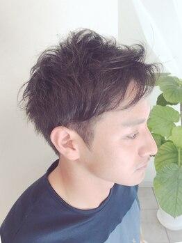 ブレッザヘアー(Brezza hair)の写真/オシャレパーマから爽やかビジネススタイルまで幅広くOK◎扱いやすく、好感度UPのメンズスタイル!